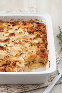Caramelized Onion Scalloped Potatoes #recipe #easy