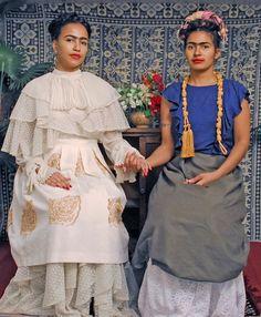 Minna Salami as the Frida Kahlo,Bumi Thomas Photography