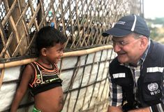 The World Health Organization announces with deep sadness the sudden death of Dr Peter Salama, Executive Director of WHO's Division for Universal Health Coverage – Life Course. Deep Sadness, Salama, World Health Organization, Three Kids, Health And Nutrition, Medical, Medicine, Med School
