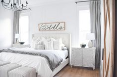 Look no further for your gray bedroom inspiration. Get the look with Ash drapery from Barn & Willow. Grey Interior Design, Custom Window Treatments, Custom Windows, Gray Bedroom, Bedroom Inspiration, Window Coverings, Drapery, Ash, Gray