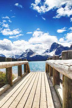 Bow Lake, Canada | Jason Bourgeois Mount Chephren & Bow Lake , Banff National Park, Alberta, Canada