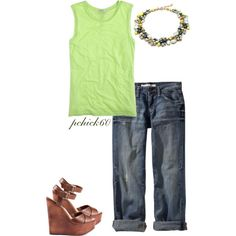 Untitled #298 by pchick60 on Polyvore featuring J.Crew, Old Navy and Chinese Laundry