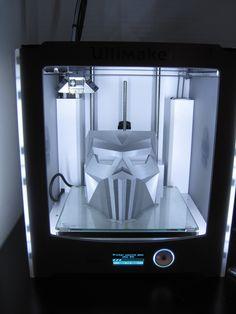 3D printed mask at smart3dprint