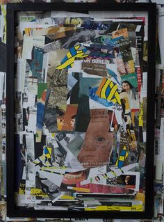 Artforum September 2014 Vol 53 No 1 Collage September 2014, Saatchi Art, Collage, Paintings, Baseball Cards, Canvas, Paper, Artist, Tela