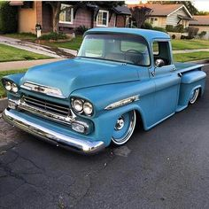 1959 Chevy Apache Stepside Pickup