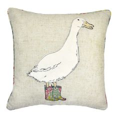 Welcome to Dunelm, the UK's leading home furnishing retailers. Shop for bedding, curtains, furniture, beds and mattresses today at Dunelm. Goose House, Places In Chicago, Duck Art, Duck Duck, Animal Cushions, English Country Style, Country House Interior, Applique Patterns, Embroidery Applique