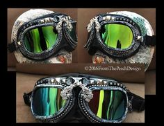 Burning Man Goggles Bad Hombre Goggles Dust by FromThePerch