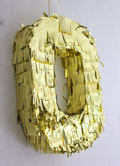 21 Number Pinata Metallic by KatieKFranklin on Etsy