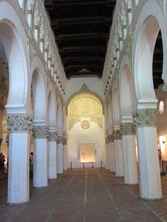 Sepharad - Sinagoga Santa Maria la Blanca. .(1180) Toledo, Spain. https://www.facebook.com/pages/Barcelona-Land/603298383116598?ref=hl