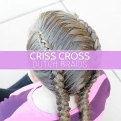 Most up-to-date Screen Hottest No Cost Criss Cross Dutch Braids Videoanleitung - . Suggestions Hottest No Cost Criss Cross Dutch Braids Videoanleitung – Braided Crown Hairstyles, Braided Hairstyles Tutorials, Braided Ponytail, Small Braids, Long Braids, Dutch Braid Crown, Crown Braids, Hair Crown, Little Girl Hair