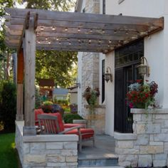Would love a pergola like this covering our back deck.