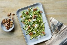 Lemony Zucchini Salad with Walnuts - California Walnuts