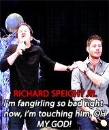 cast members talking about Jensen Ackles (click through for full gif set)