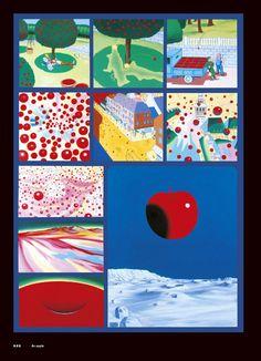 「すべての絵画は、一コママンガである! 」タイガー立石のコマ割り絵画作品集が発売中