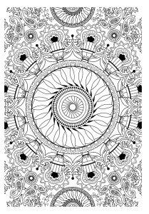Coloriage Mandala Sorciere.Coloriage Sympa 12 Precieux Coloriage Sympa Photos