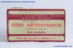 Siero Antitetanico - Istituto Sieroterapico Milanese Serafino Belfanti - 31 luglio 1950