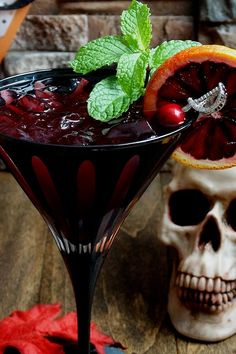 Bloody zombie rum cocktail community post 10 bloody good cocktails that ll make your halloween party an instant halloween cocktails bloody zombie rum cocktail krbisgemse vom blech mit feta und hack Halloween Cocktails, Fun Cocktails, Holiday Cocktails, Party Drinks, Zombie Cocktail, Cocktail Menu, Zombie Drink, Rum, Painkiller Cocktail