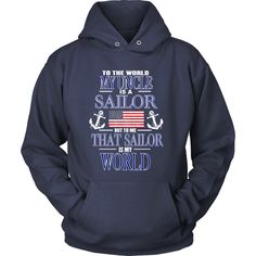 To the world my uncle is a sailor