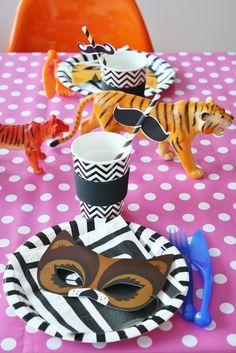 Circus party!! Adorable tigers!