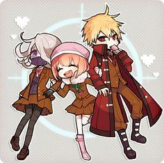 Seiko, Ruruka, & Sohnosuke   Danganronpa 3