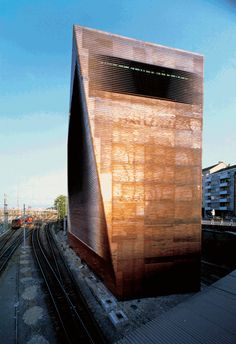 Herzog & de Meuron - Central Signal Box, Switzerland - Again excellent early work, simple beautiful, creative, unexpected.