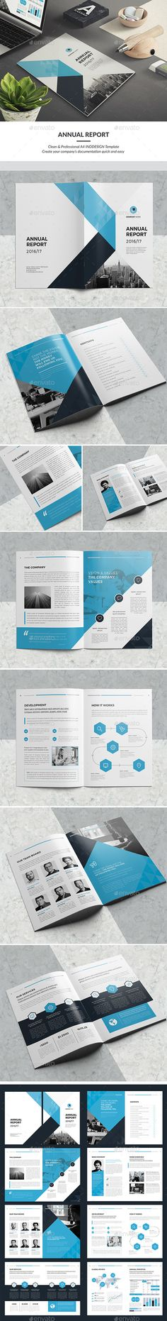 Minimal Brochure Vol III Brochures, Brochure template and Editorial - medical report template