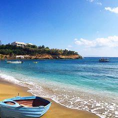 Agia Pelagia #beach in #Crete Photo credits: @daniellebrewin