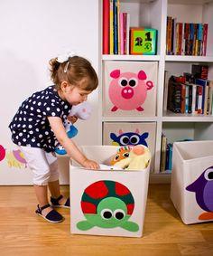 Cajas de tela Keeddo para almacenamiento de juguetes decoracion-infantil-kids-decor
