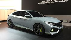 The 2017 Honda Civic Hatchback will be made available in European market near…