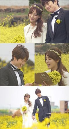 Gong Myung And Jung Hye Sung Have A Unique And Romantic Wedding Ceremony On Jeju Island