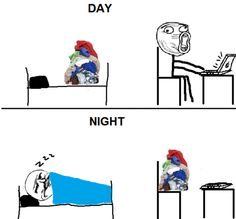 Day and night funny memes meme funny quote funny quotes humor humor quotes funny pictures best memes popular memes. SO ME.!!