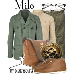 Milo by leslieakay on Polyvore featuring FAY, Mulberry, Scotch & Soda, Folk, AllSaints, Oliver Peoples, Disney and disney