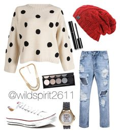 """""""polka-dot"""" by wildspirit2611 on Polyvore featuring Chanel, Converse, NLY Accessories, Witchery, Wet Seal, women's clothing, women's fashion, women, female and woman #wetseal #womensclothing #womensfashion #women #female #women #fashion #stylish #style #clothes #ootd #simple #love #beautiful #classy #designer #design #cute #comfy #cozy #casual #warm #affordable #cheap #fashionable #sexy #easy #blossom #bloom #beyou #create #creative #inspiration #inspire #watch #sweater #sweaters #goldchain…"""