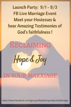 Reclaim hope and joy in your marriage