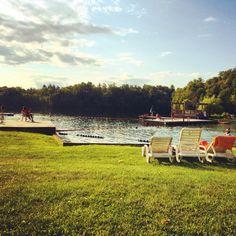 Williams Lake during Summer Swim