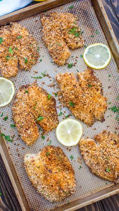 Crispy Oven Baked Tilapia [Video] – Sweet and Savory Meals Crispy Oven Baked Tilapia soaked in buttermilk and covered with bread crumbs, is the perfect dinner option for busy weeknights. Oven Baked Tilapia, Baked Tilapia Recipes, Fish Recipes, Seafood Recipes, Cooking Recipes, Healthy Recipes, Healthy Tilapia, How To Bake Tilapia, Recipes