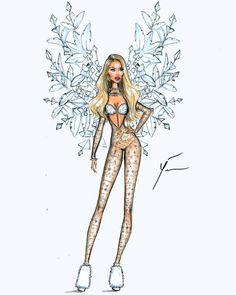 VS Fashion Show 2015 'Ice Angels' by Yigit Ozcakmak: Candice Swanepoel