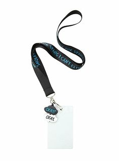 The Fault In Our Stars Quote Lanyard | Hot Topic