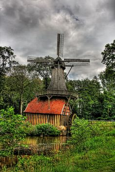 Hüvener Mill - Hüven, Germany
