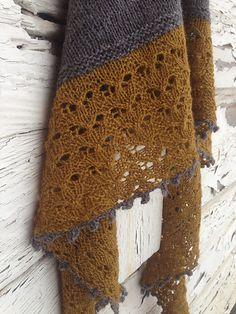 Ravelry: Kaipuu pattern by Tiina Huhtaniemi Knit Or Crochet, Lace Knitting, Crochet Shawl, Crochet Vests, Crochet Cape, Crochet Edgings, Crochet Motif, Shawl Patterns, Knitting Patterns Free