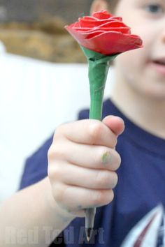 Duct Tape Rose Pens - Cute Gifts