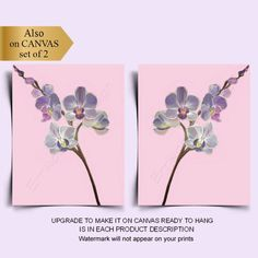 Nursery Wall Art, Girl Nursery, Nursery Decor, Room Decor, Orchid Flowers, Orchids, Floral Nursery, Art Floral, Flower Wall