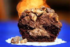Joan's on Third Snickers Cupcakes with Chocolate Mousse filling Recipe