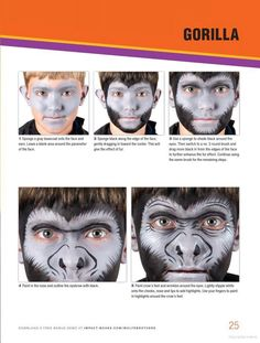 Fun Face Painting Ideas for Kids: 40 Step-by-Step Demos - Brian Wolfe, Nick Wolfe - Google Books #stepbystepfacepainting