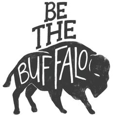 Be the Buffalo How do you face your fear? Like buffalo, or like cattle? The two mammals may seem similar, but they are strikingly different in how they approach a challenge. When faced with a storm, cattle turn and flee the danger. But inevitably, the storm catches up to them. They can't outrun it.