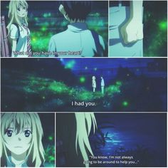 shigatsu wa kimi no uso / your lie in April...one of my favourite scene