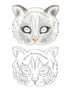 Printable Cat Mask - Coolest Free Printables