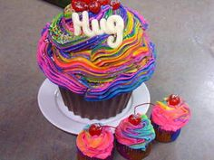 Find this Pin and more on Giant cupcakes. & Giant cupcake pan - All Fresh Recipes | Fresh Recipes | Pinterest ...