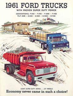 A Brief History Of Ford Trucks – Best Worst Car Insurance Cool Trucks, Big Trucks, Pickup Trucks, Semi Trucks, Ford Lincoln Mercury, Ford Super Duty, Ford Classic Cars, Classic Chevy Trucks, Old Dodge Trucks