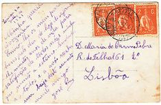a portugal postcard to lisboa 1921 several 2c ceres stamps